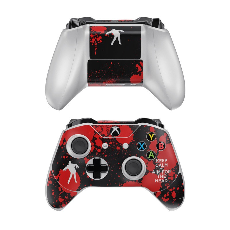 Keep Calm - Zombie Xbox One Controller Skin