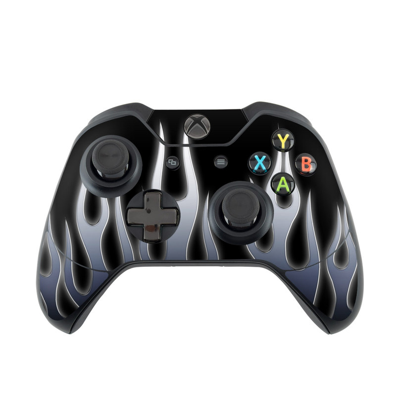Metal Flames Xbox One Controller Skin
