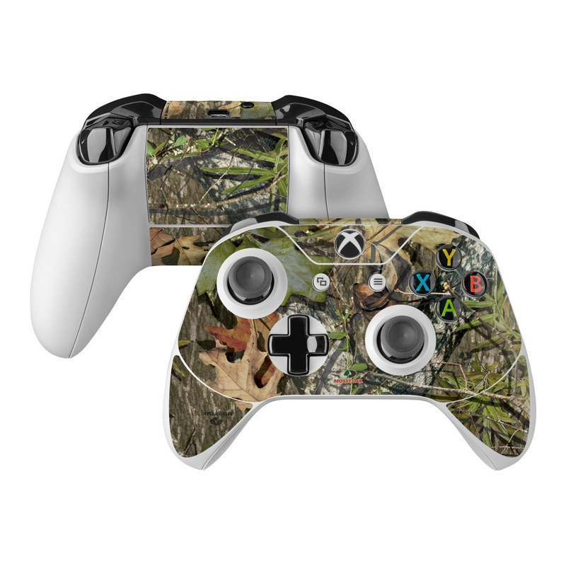 Xbox One Controller Skin design of Camouflage, Military camouflage, Tree, Plant, Leaf, Design, Adaptation, Branch, Pattern, Trunk with black, green, gray, red colors