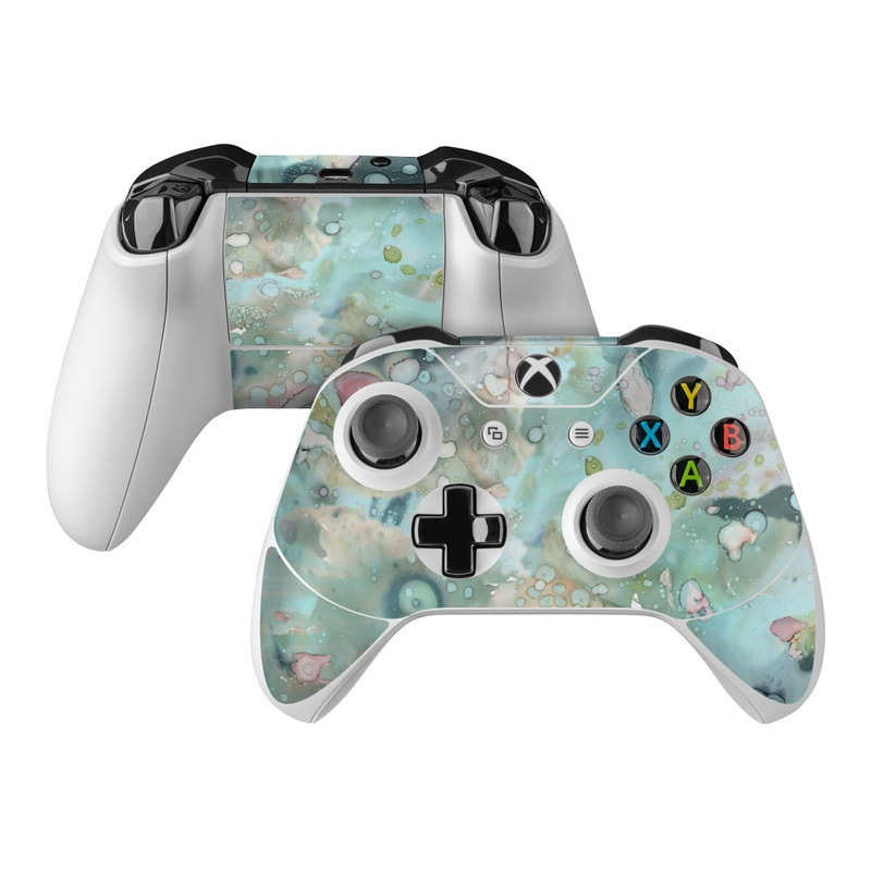 Organic In Blue Xbox One Controller Skin
