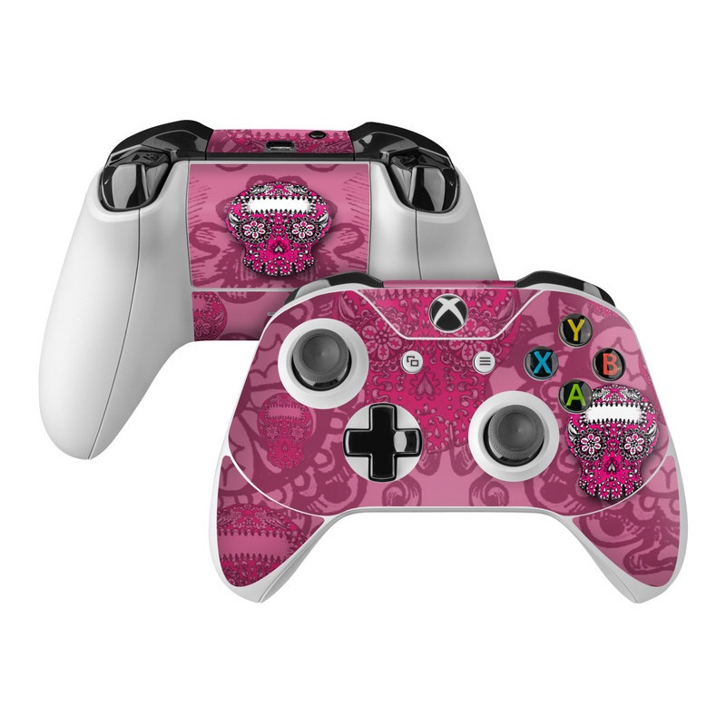 Pink Lace Xbox One Controller Skin
