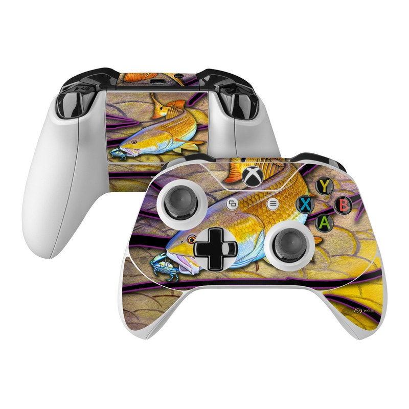 Red Fish Xbox One Controller Skin