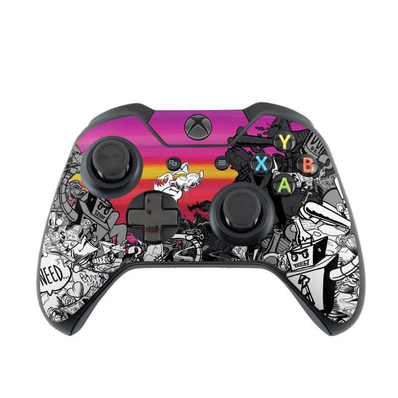 Robo Fight Xbox One Controller Skin Istyles
