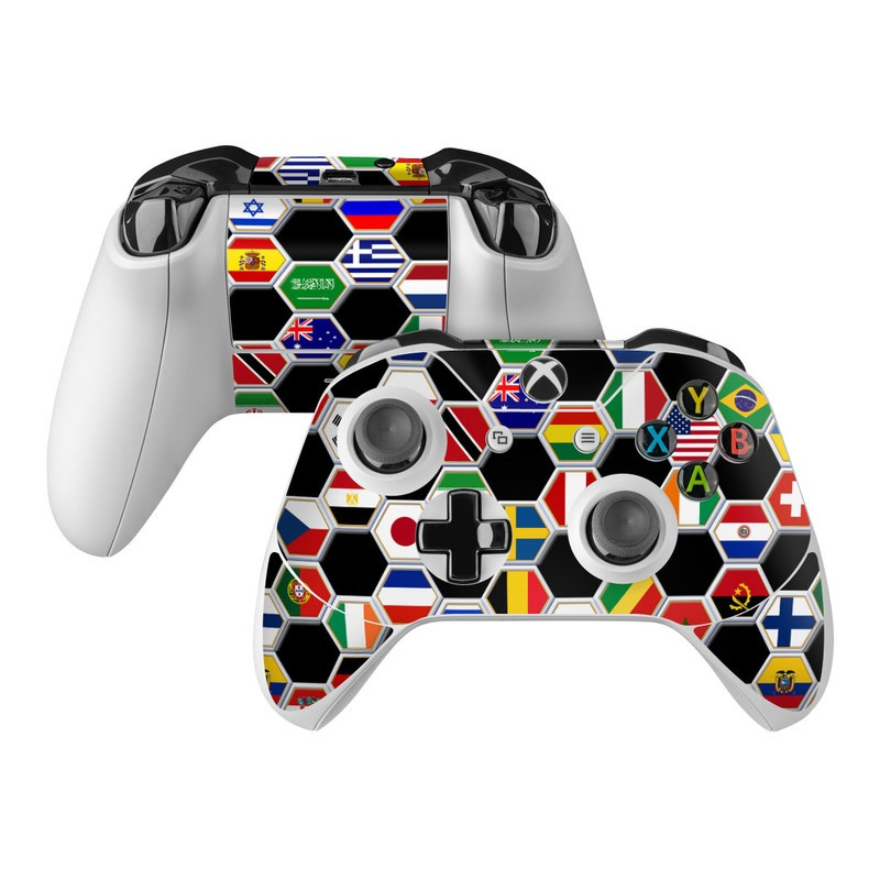Soccer Flags Xbox One Controller Skin