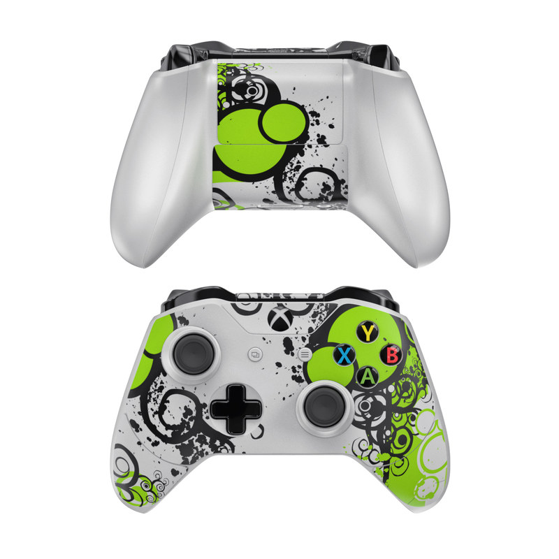 Simply Green Xbox One Controller Skin