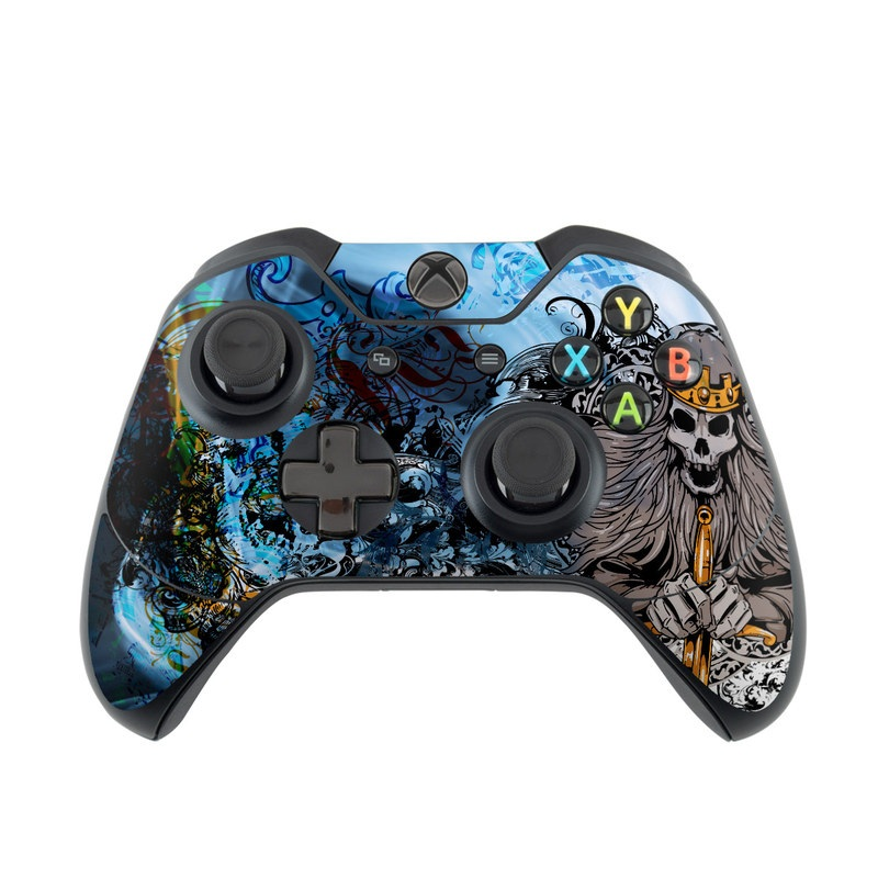 Skeleton King Xbox One Controller Skin