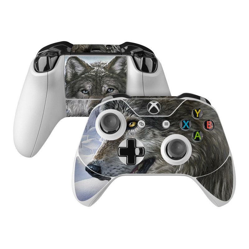 Snow Wolves Xbox One Controller Skin