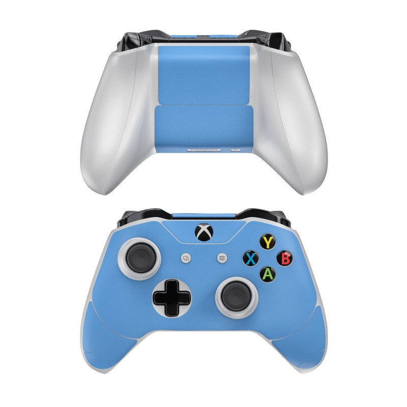 Xbox One Controller Skin design of Sky, Blue, Daytime, Aqua, Cobalt blue, Atmosphere, Azure, Turquoise, Electric blue, Calm with blue colors
