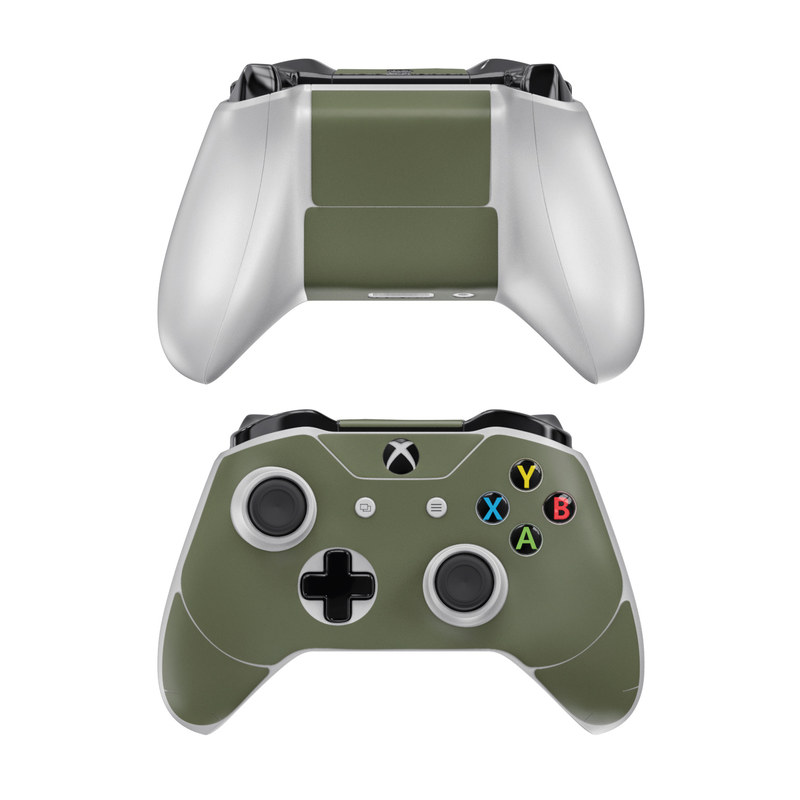 Solid State Olive Drab Xbox One Controller Skin