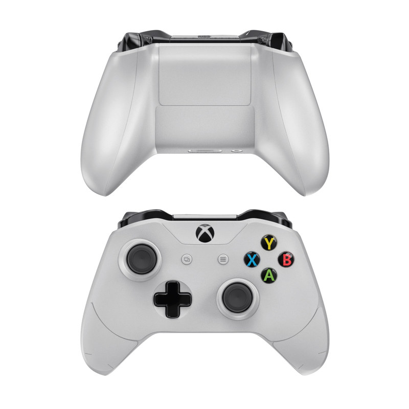 Solid State White Xbox One Controller Skin