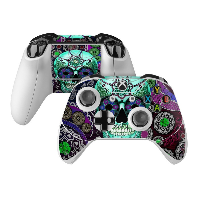 Sugar Skull Sombrero Xbox One Controller Skin