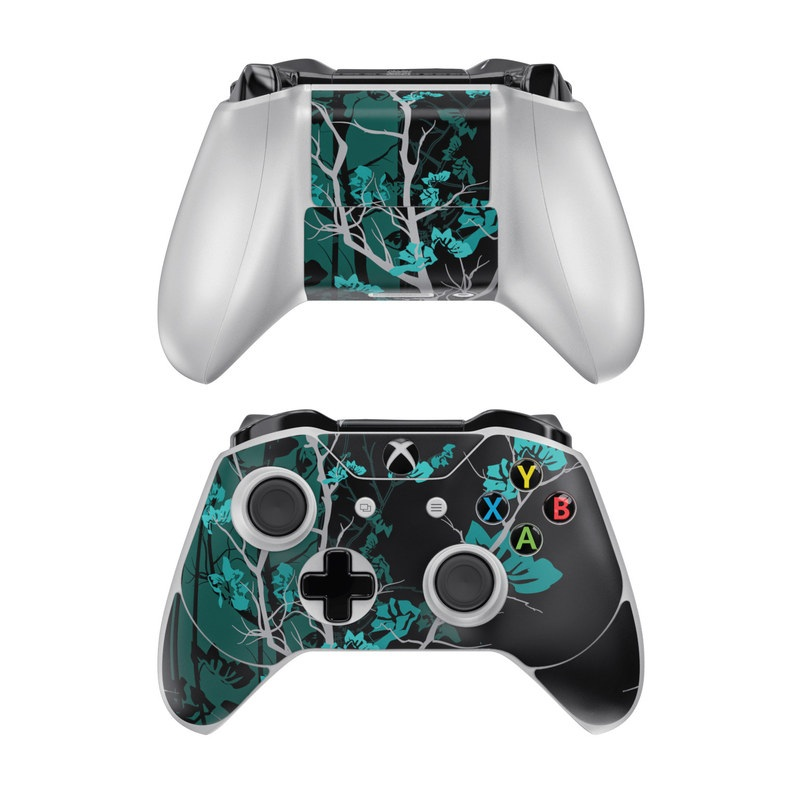 Aqua Tranquility Xbox One Controller Skin