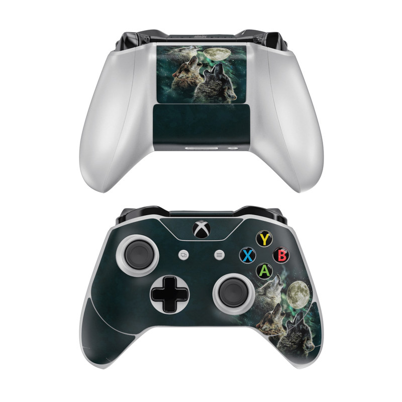 Three Wolf Moon Xbox One Controller Skin