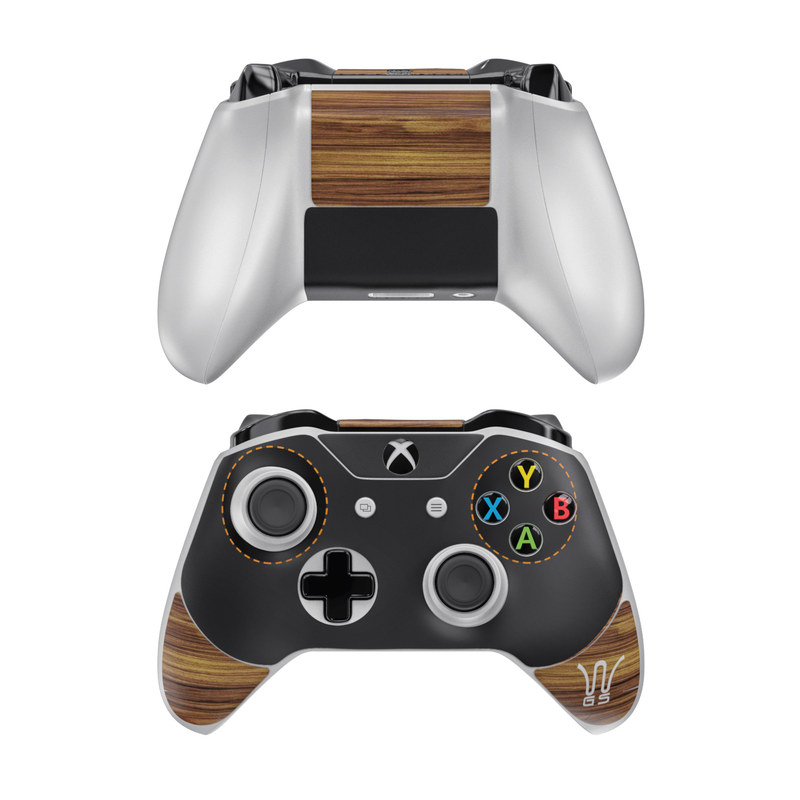 Wooden Gaming System Xbox One Controller Skin