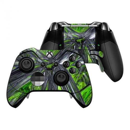 Emerald Abstract Xbox One Elite Controller Skin