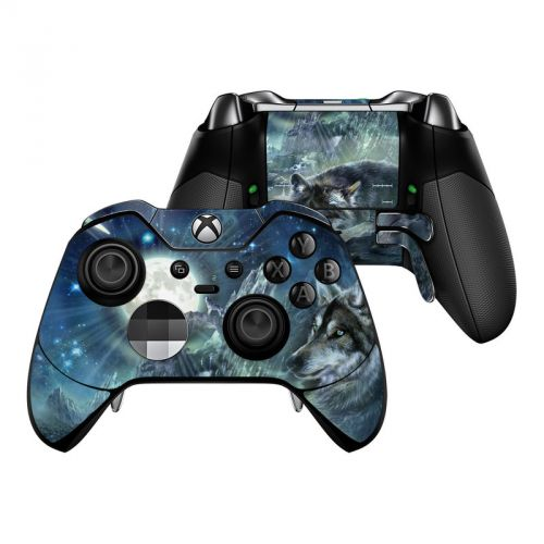 Bark At The Moon Xbox One Elite Controller Skin