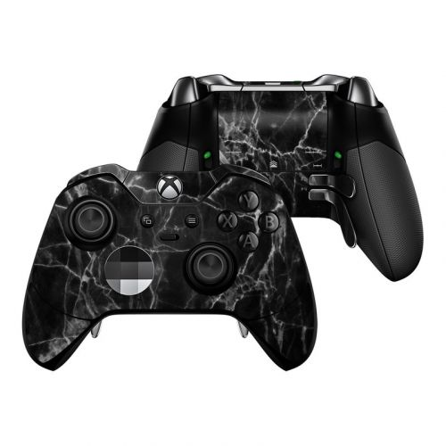 Black Marble Xbox One Elite Controller Skin