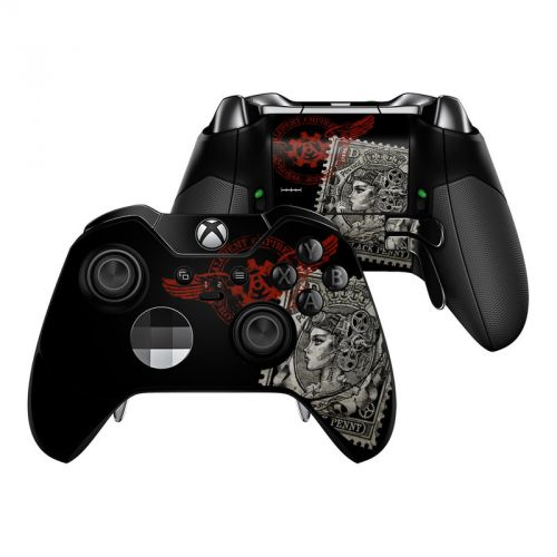 Black Penny Xbox One Elite Controller Skin
