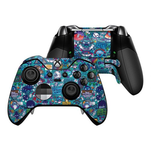 Cosmic Ray Xbox One Elite Controller Skin