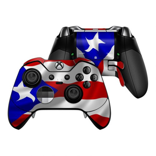 Puerto Rican Flag Xbox One Elite Controller Skin