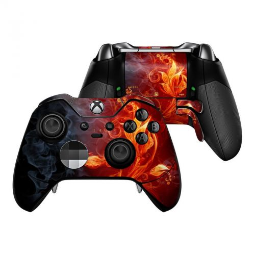 Flower Of Fire Xbox One Elite Controller Skin