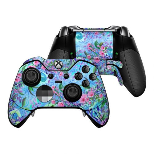 Lavender Flowers Xbox One Elite Controller Skin