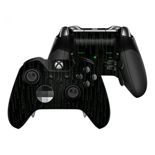 Matrix Style Code Xbox One Elite Controller Skin