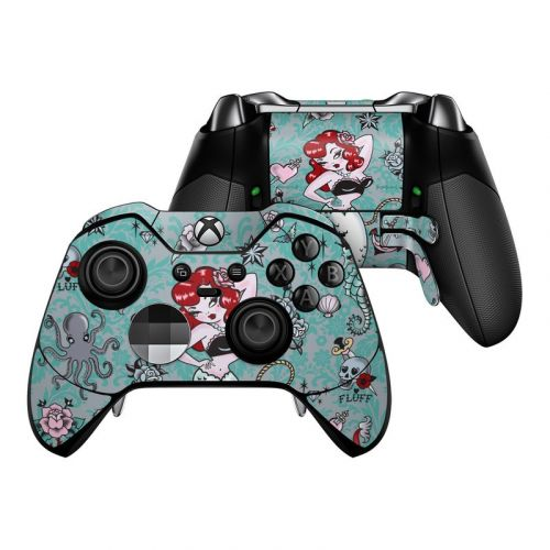 Molly Mermaid Xbox One Elite Controller Skin