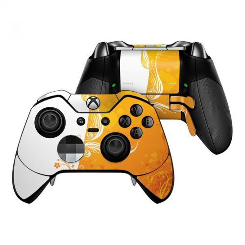 Orange Crush Microsoft Xbox One Elite Controller Skin