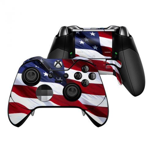 Patriotic Xbox One Elite Controller Skin