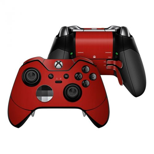 Red Burst Xbox One Elite Controller Skin
