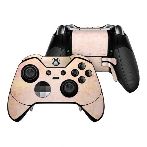 Review- Xbox One Skins- GOLD Slate Brushed Metal ... |Gold Xbox One Controller Skin