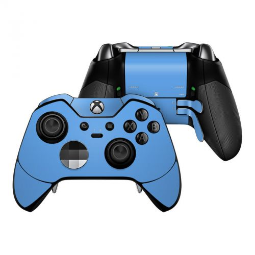 Solid State Blue Xbox One Elite Controller Skin