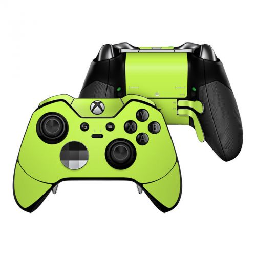 Solid State Lime Xbox One Elite Controller Skin