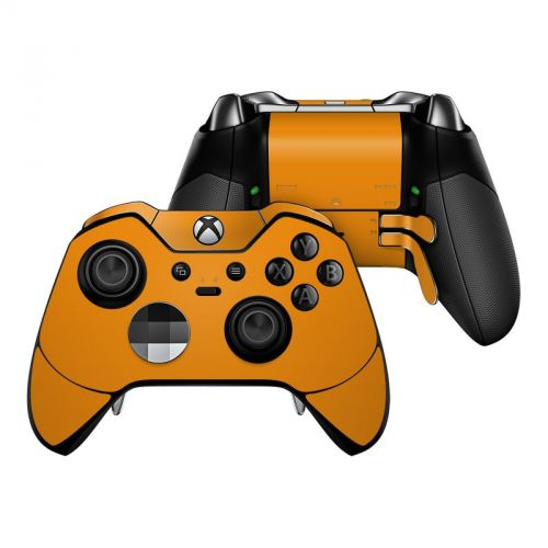 Solid State Orange Xbox One Elite Controller Skin