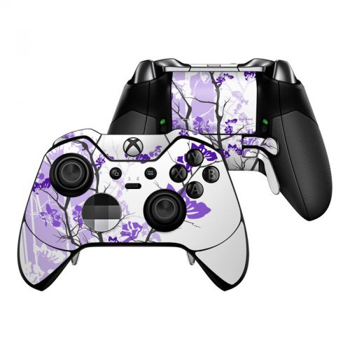 Violet Tranquility Xbox One Elite Controller Skin