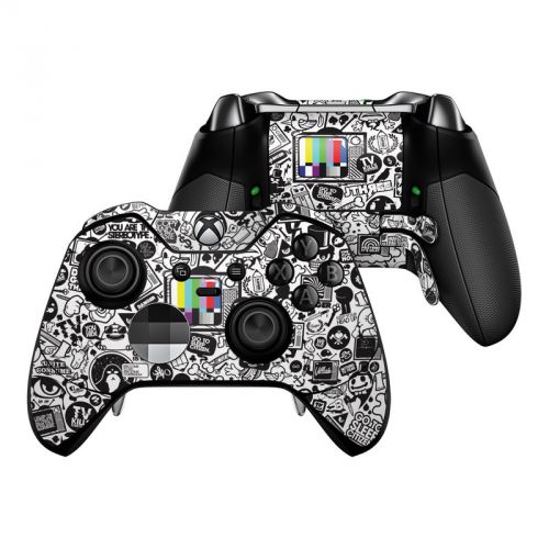 TV Kills Everything Xbox One Elite Controller Skin