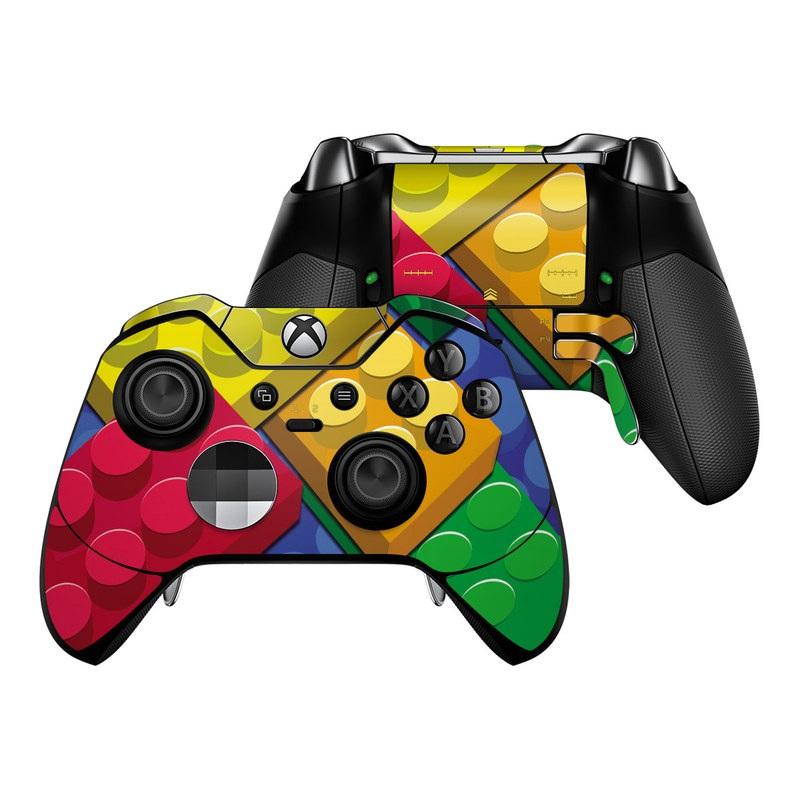Bricks Xbox One Elite Controller Skin