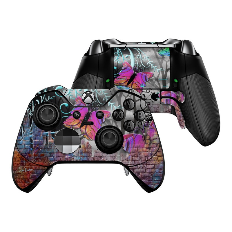 Butterfly Wall Xbox One Elite Controller Skin