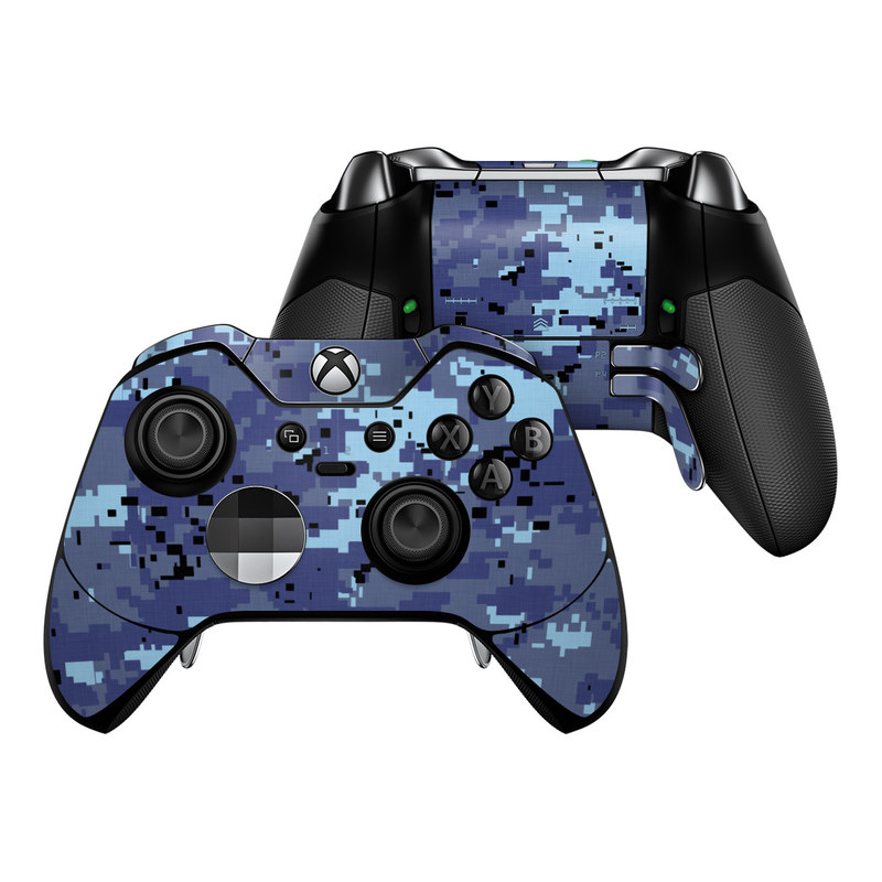 Digital Sky Camo Xbox One Elite Controller Skin