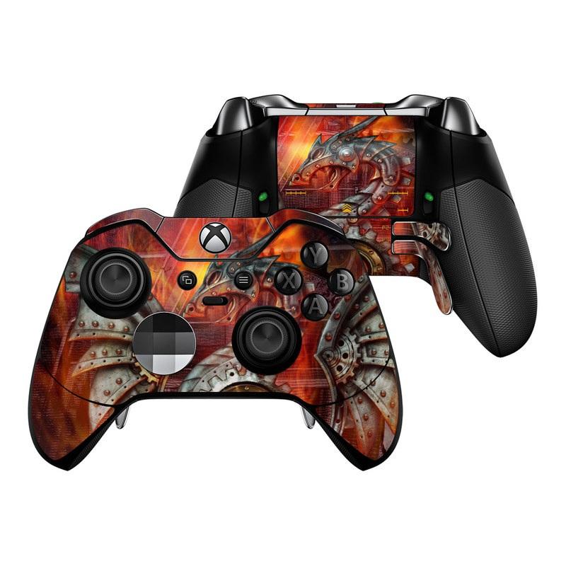 Furnace Dragon Xbox One Elite Controller Skin