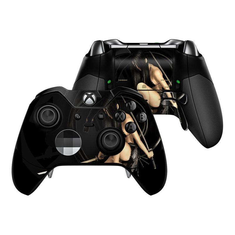 Josei 2 Dark Xbox One Elite Controller Skin