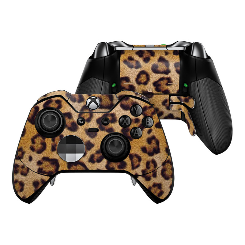 Leopard Spots Xbox One Elite Controller Skin