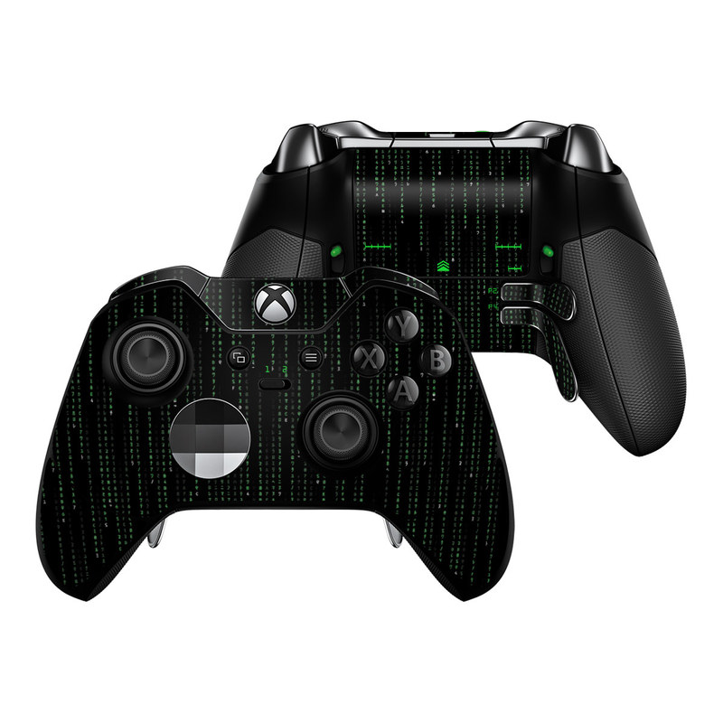 Matrix Style Code Xbox One Elite Controller Skin