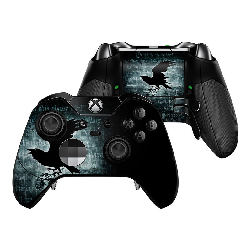 Nevermore Xbox One Elite Controller Skin