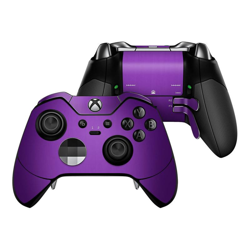 Purple Burst Xbox One Elite Controller Skin