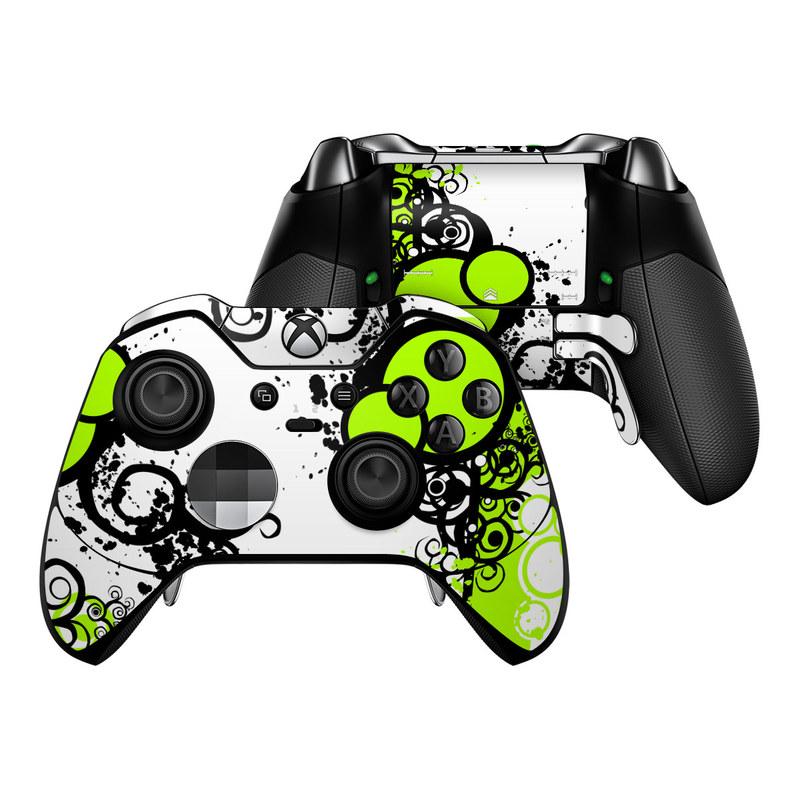 Simply Green Xbox One Elite Controller Skin