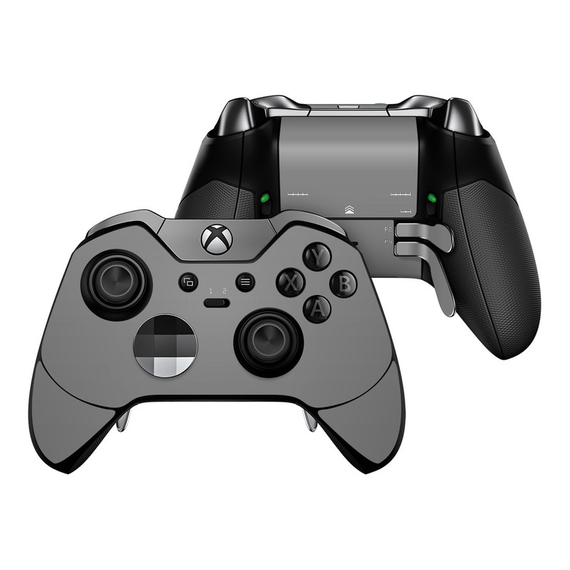 Solid State Grey Xbox One Elite Controller Skin