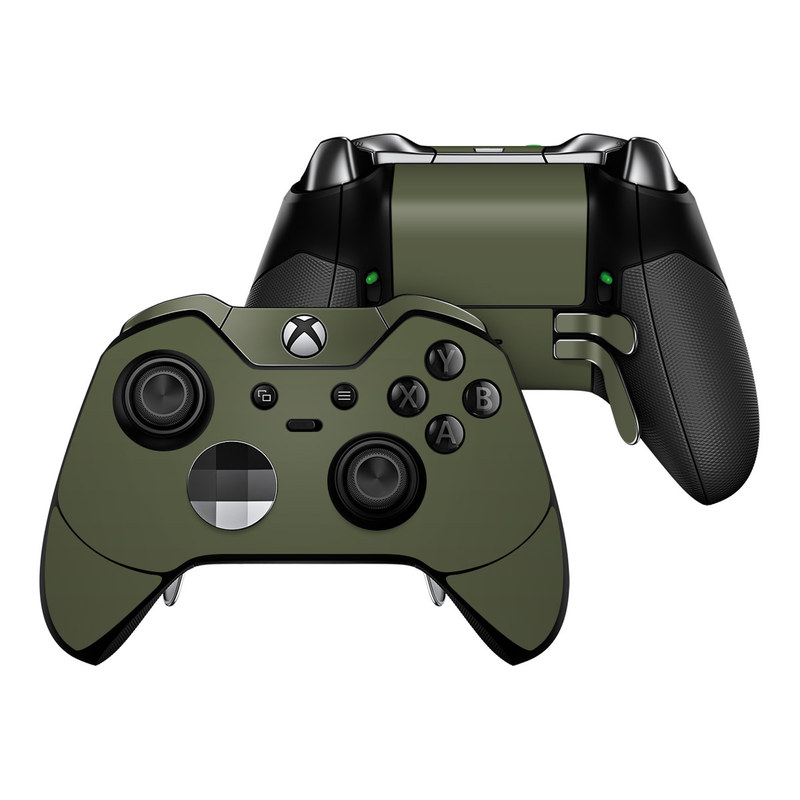 Solid State Olive Drab Xbox One Elite Controller Skin