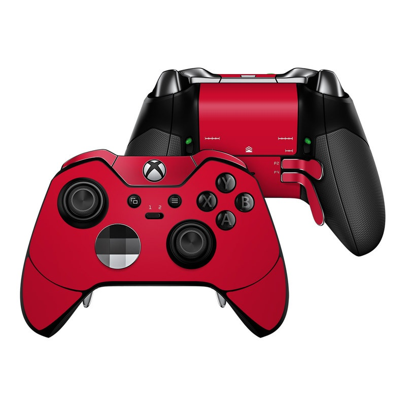 Solid State Red Xbox One Elite Controller Skin